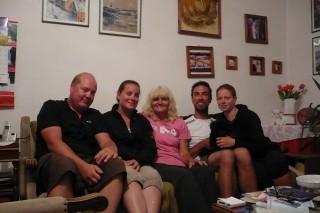 Chez notre Mama-Serbia, Ana.